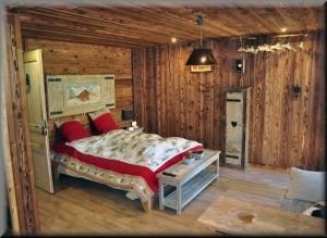 Mountain Lodge chambre - St francois longchamp