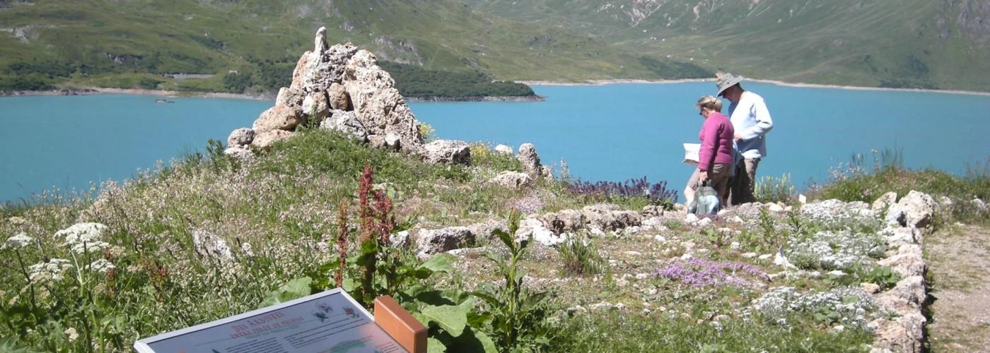 Balade autour du lac du Mont Cenis - savoie
